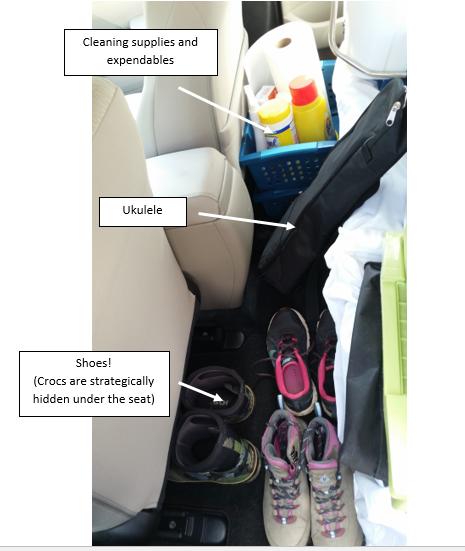 back seat floor